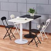 餐桌 洽談桌圓桌餐桌椅組合現代簡約飯桌歐式北歐小戶型奶茶店吃飯桌子jy【滿一元免運】