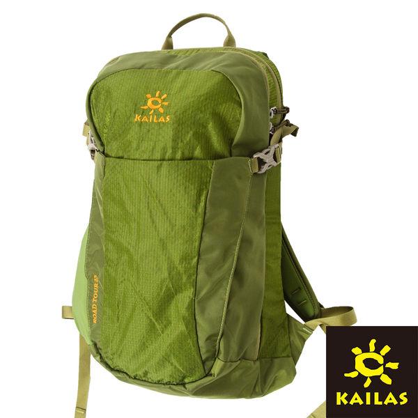 【Kailas】路遊(Roadtour)透氣背包25L『軍綠』KA30051 登山|露營|休閒|旅遊|戶外