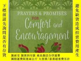 二手書博民逛書店Prayers罕見& Promises for Comfort and EncouragementY19139