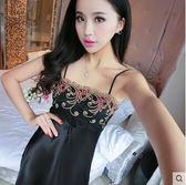 夏季蕾絲誘惑睡衣露背短裙 DL14862『伊人雅舍』