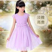 618好康鉅惠 女童連身裙2018新款韓版兒童中大童女孩衣服