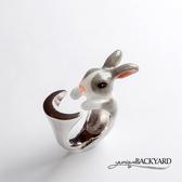 yunique Backyard  道奇月亮兔戒指
