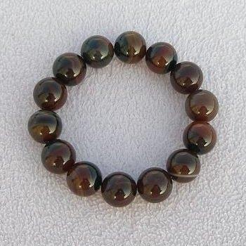 【歡喜心珠寶】【天然瑪瑙圓珠16mm手串】手鍊14顆.佛教七寶之一瑪瑙「附保証書」超低價售出
