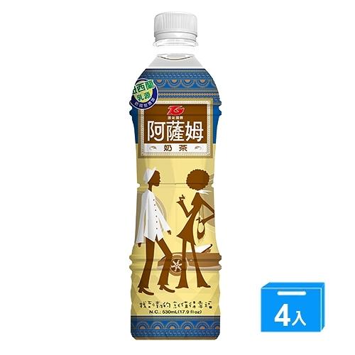 匯竑阿薩姆奶茶530ml x 4【愛買】