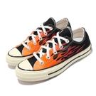 Converse 休閒鞋 Chuck Taylor All Star 70 黑 紅 男鞋 女鞋 低筒 火焰 1970 帆布鞋 運動鞋 【ACS】 167813C