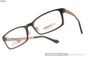 Alphameer 光學眼鏡 AM3501 C114 (棕-金) 記憶塑鋼簡約方框款 # 金橘眼鏡