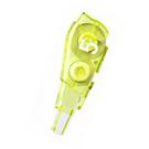【奇奇文具】普樂士PLUS MR2 WH-645R (綠) 智慧型滾輪修正內帶/替換帶