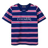 『小鱷魚童裝』條紋T恤(02號~06號)535401