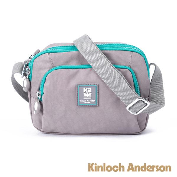 金安德森 極簡耀色 防潑水多功能方型側背包 灰色