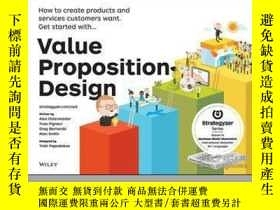 二手書博民逛書店Value罕見Proposition Design: How to Create Products and Ser