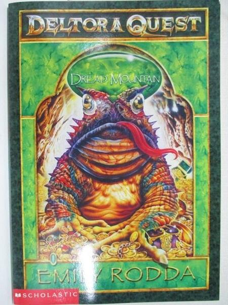 【書寶二手書T8/原文小說_AYA】Deltor a Quest (5) Dread Mountain_Emily Rodda