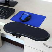二代創意電腦手托架桌用鼠標墊護腕托手腕墊子可旋轉臂托架  初語生活館