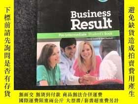 二手書博民逛書店Business罕見Result: Pre-Intermediate Students Book(附光盤)Y2