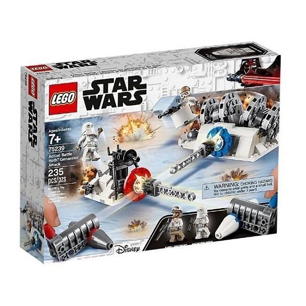 【南紡購物中心】【LEGO 樂高積木】星際大戰Star Wars系列-Action Battle Hoth Generator Attack75239