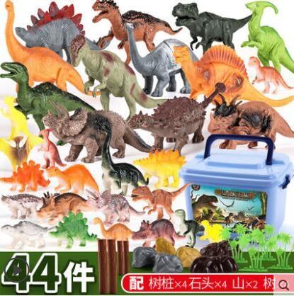 兒童恐龍玩具套裝仿真動物大號 全館免運