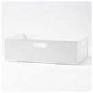 收納盒 N INBOX (W) 寬低型 橫式半格型 WH NITORI宜得利家居