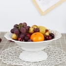 水果盤 創意歐式家用水果盤客廳仿瓷糖果盤乾果盤辦公室零食盤小果盤 新年優惠