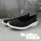 SKECHERS ARYA DIFFERENT EDGE 黑灰 條紋 白底 記憶鞋墊 休閒鞋 女 (布魯克林) 23752BKW