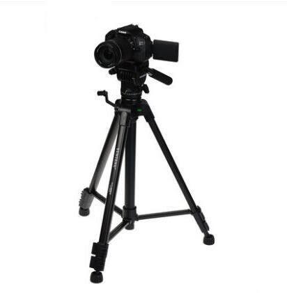 單反三腳架 阻尼云臺攝像機三腳架單反相機支架 BF13097『男神港灣』