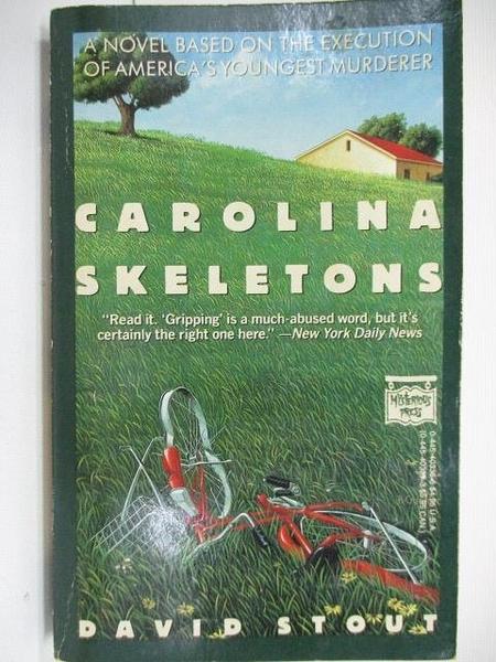 【書寶二手書T8/原文小說_AHP】Carolina Skeletons_David Stout