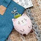 【專區滿618享8折】動物果友會-莓莓喵零錢包吊飾-生活工場