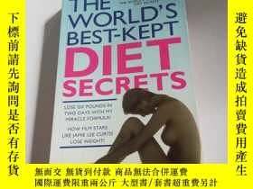 二手書博民逛書店THE罕見WORLD S BEST-KEPT DIET SECR