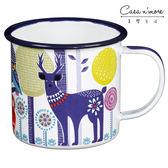 【預購】【英國 Wild & Wolf】 森林動物系列 白天琺瑯杯 茶杯 馬克杯400ml【Casa More美學生活】