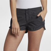 Hurley LOWRIDER PORTSIDE SHORT 休閒短褲-黑(女)