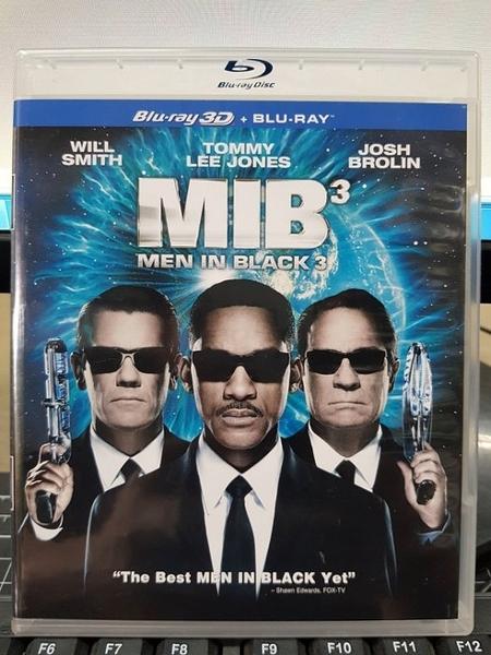 挖寶二手片-TBD-241-正版BD-電影【MIB星際戰警3 3D+2D雙碟】-藍光影片(直購價)