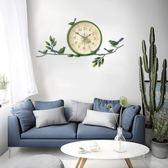 掛鐘美式創意靜音鐘時鐘現代簡約裝飾掛表