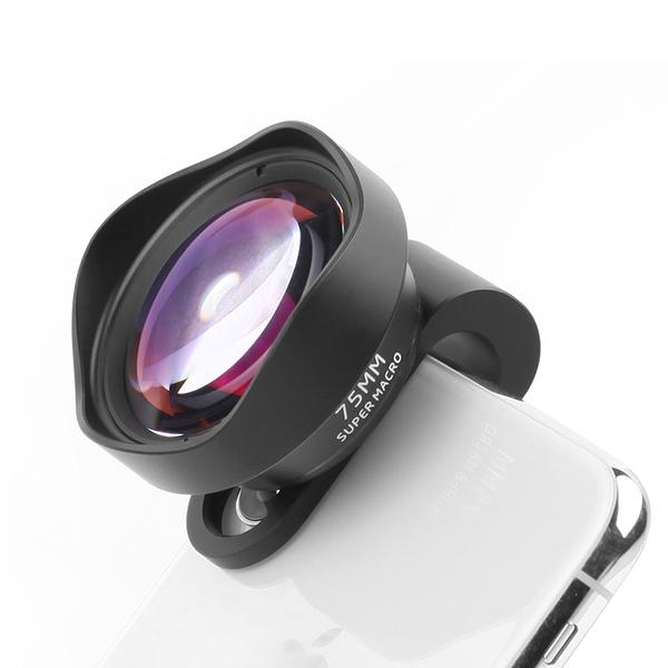 75MM高清遠距離微距鏡頭 10X 自拍神器