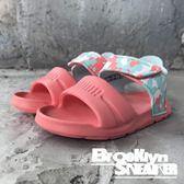 Puma Wild Sandal Injex Camo Inf 粉紅 白綠豹紋 魔鬼氈 涼鞋 小童 (布魯克林) 36508203