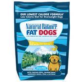 【寵物王國】Natural Balance-NB肥胖成犬減重調理配方5磅