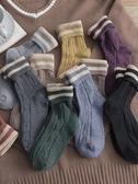 馬丁靴襪子女秋冬潮流中筒襪日系保暖羊毛中長款韓國堆堆襪長筒襪