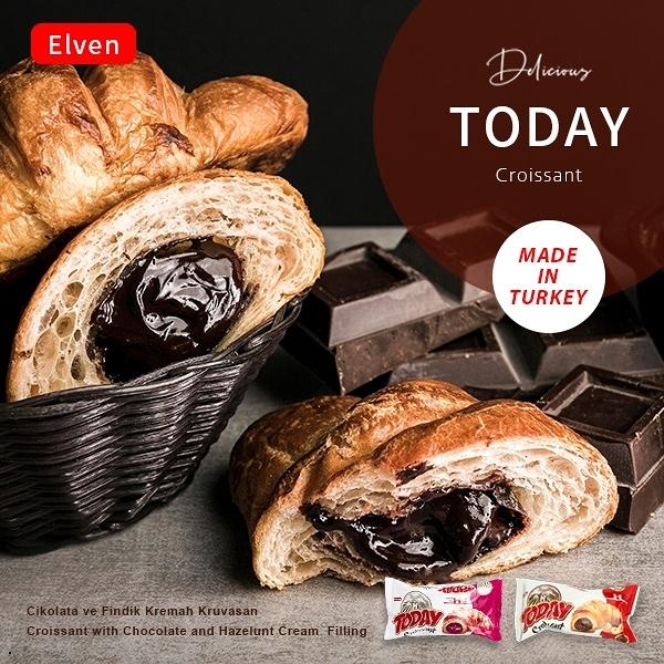 土耳其 Today可頌麵包 45g【櫻桃飾品】【31483】