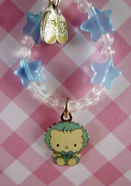 【震撼精品百貨】Hello Kitty 凱蒂貓~KITTY手機提帶-藍星BABY