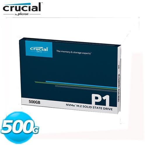 Micron Crucial P1 500GB SSD
