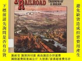 二手書博民逛書店Transcontinental罕見Railroad (Spotlight on American History