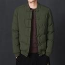 中國風男裝冬季外套復古棉衣中式短款盤扣棉服胖子大碼唐裝棉襖潮 黛尼時尚精品