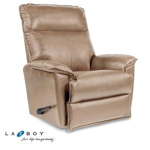 La-Z-Boy 搖椅式休閒椅 10T706-AV714838 半牛皮 淺褐色