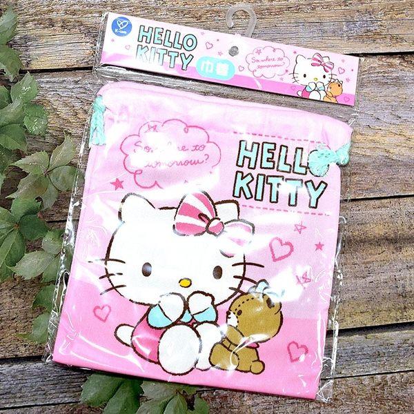 Hello Kitty 束口袋 日本正版