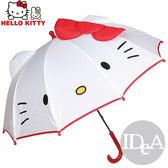 Sanrio 三麗鷗 Hello Kitty 凱蒂貓蝴蝶結耳朵創意兒童晴雨長柄傘 輕型遮陽防曬 非折疊 鋼絲支架保護