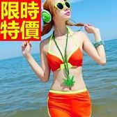 泳衣(兩件式)-比基尼音樂祭溫泉戲水必備泳裝新品百搭54g192【時尚巴黎】