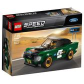 樂高LEGO SPEED 1968 Ford Mustang Fastback 75884 TOYeGO 玩具e哥