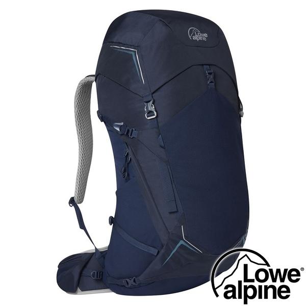 【英國 LOWE ALPINE】AirZone Trek ND43:50透氣健行背包43+7L『海軍藍』FTE-92 登山包.後背包