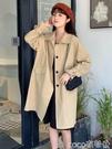 薄款風衣 英倫風潮風衣女秋裝超火網紅復古中長款氣質薄款休閒夾克外套 coco