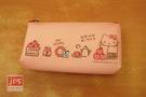 Hello Kitty 凱蒂貓 硅膠筆袋 收納袋 置物袋 粉 970839