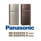 【24期0利率+基本安裝+舊機回收】Panasonic 國際牌 422L雙門變頻冰箱 NR-B429TG 公司貨