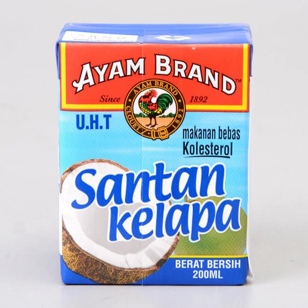馬來西亞【雄雞標】特級椰奶-利樂包 200ml