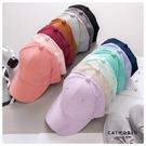 Catworld 麂皮絨純色棒球帽【18003493】‧F